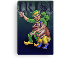 Irish vs Wolverine Canvas Print