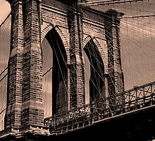 Bridge into the Big Apple by Lydia Featheringill