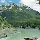 The Bow River, Banff, Alberta, Canada by Adrian Paul