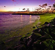 Lonely Rocky Beach by Anadil Chowdhury