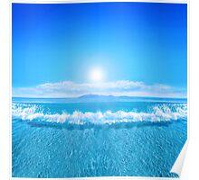 Tropical Sea Poster