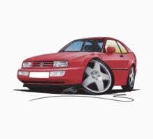 VW Corrado Red by Richard Yeomans