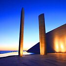 Champalimaud Centre .... sunset by tereza del pilar