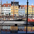 Nyhavn area in Copenhagen, Denmark by Nasko .