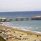 Cromer tilt shift beach  by James Taylor