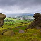View over Cravendale - Yorkshire Dales by Geoimages