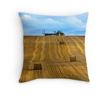 """The Tractor""    Chicheley Hill Throw Pillow"