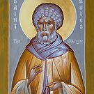 St Moses the Ethiopian by ikonographics