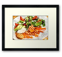 Pirate's World of Food Framed Print