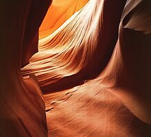 Lower Antelope canyon by Yool
