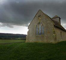 Langley Chapel, Shropshire UK by Sheila Laurens