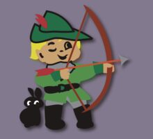 Kid Billy retro featuring Robin Hood Tee Kids Clothes