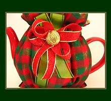 Christmas Plaid Tea Cozy by abercot