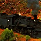 Canyon Train by artstoreroom