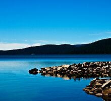 Blue shore by vanishedtwin