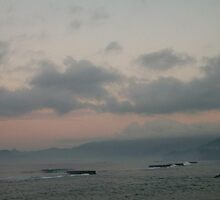 Diluted Pastel sunrise by YogiColleen