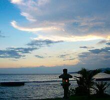 Candi Dasa sunset by YogiColleen