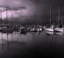 Mirrored Marina by Jill Fisher