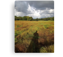Countryside: Kingswood, Surrey -(260811c)- digital photo Canvas Print