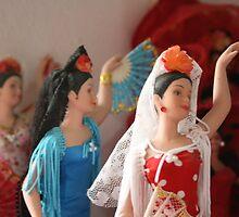 Flamenco Dolls by KLReich
