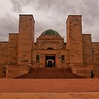 Canberra, War Memorial Entrance by Jaxybelle