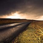 A Road Through the Cumbrian Moors by Simon Harrison