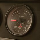 Mitsi Evo boost gauge. by MattReeves