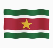 Suriname flag by stuwdamdorp
