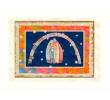 Christmas: Jesus Christ , Joseph, Mary  Art Print