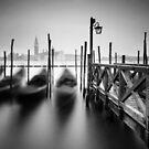 Venice: Gondolas II by Nina Papiorek