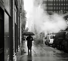 NYC: Umbrella by Nina Papiorek