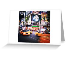 NYC: Taxi Taxi Greeting Card