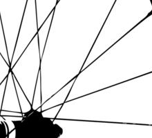 Bike RIM ~ Silhouette  Sticker