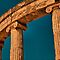 Greece. Ancient Olympia. Ruins of Philippeion. Detail. by vadim19