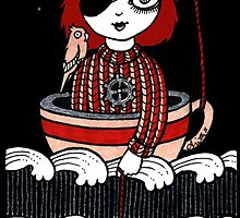 Teacup Pirate by Anita Inverarity