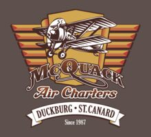 McQuack Air Charters by absinthetic