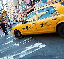 New York Taxi by Brad Sauter