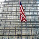 American Flag, Chrysler Building Reflection by Brad Sauter