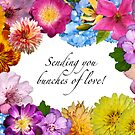 Sending you bunches of love! by Bonnie T.  Barry