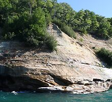 Pictured Rocks 3 by Hannah Cutler