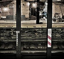 Corlandt Street Subway Station by aMillionWordsCa