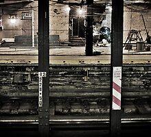 Corlandt Street Subway Station by aMillionWordsCa