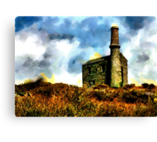 Beautiful Britain - Cornish Tin Mine Canvas Print