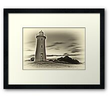 """The Old Lighthouse"" Framed Print"