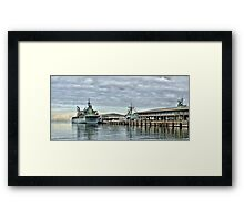 HMAS Sirius at Station Pier Framed Print