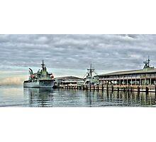 HMAS Sirius at Station Pier Photographic Print
