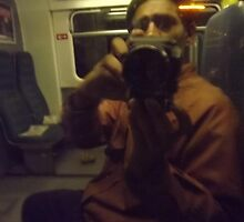 self-portrait/with camera being held -(260811)- digital photo  by paulramnora