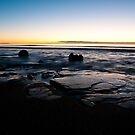 Moeraki Boulders Sunrise by Stephen Dickson
