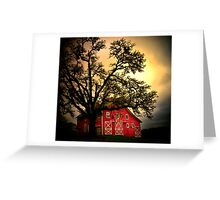 An Old Red Barn ~ Finley Refuge ~ Greeting Card