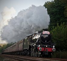 The Cumbrian Mountain Express by Steve  Liptrot